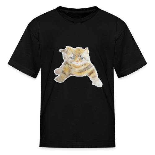 sad boy - Kids' T-Shirt