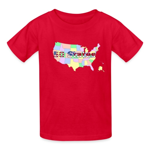 50 states - Kids' T-Shirt