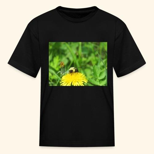 Dandelion Bee - Kids' T-Shirt