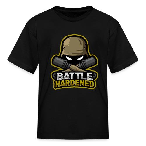 Battle hardened Logo - Kids' T-Shirt