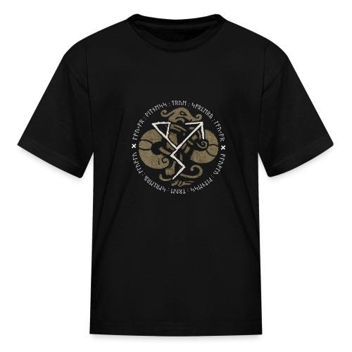 Witness True Sorcery Emblem (Alu, Alu laukaR!) - Kids' T-Shirt