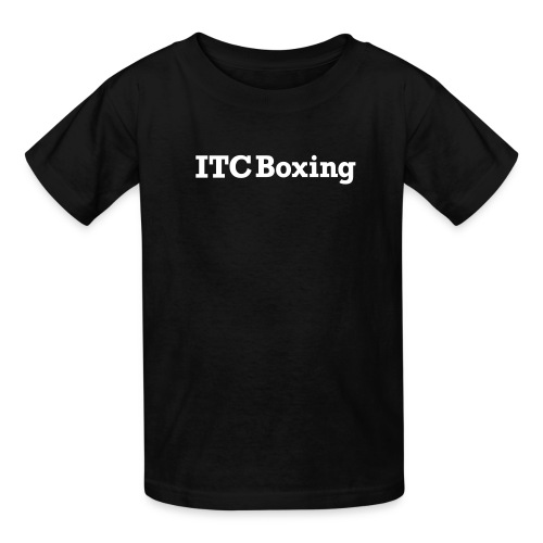 itcboxingwhite - Kids' T-Shirt