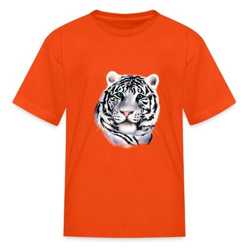 White Tiger Face - Kids' T-Shirt