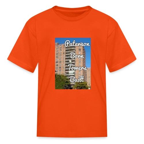 Paterson Born Towers Built - Kids' T-Shirt