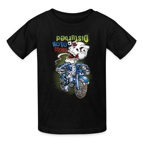 Disturbed Motocross Racer - Kids' T-Shirt