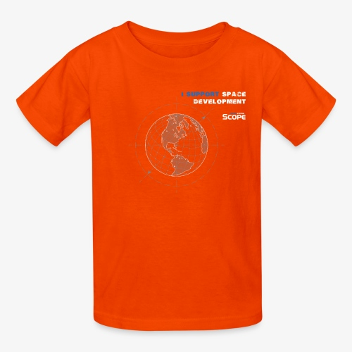 Solar System Scope : I Support Space Development - Kids' T-Shirt