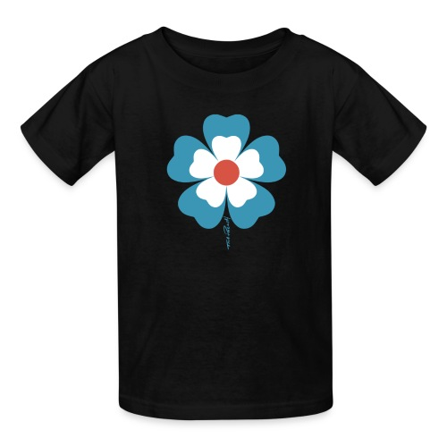 flower time - Kids' T-Shirt