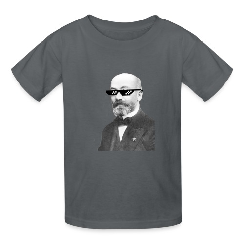 Zamenhof Shades (BW) - Kids' T-Shirt