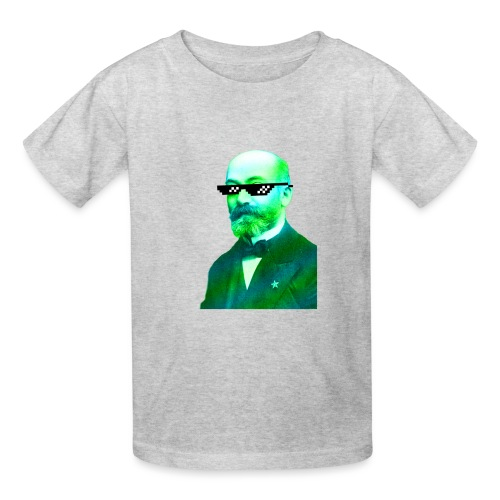 Green and Blue Zamenhof - Kids' T-Shirt