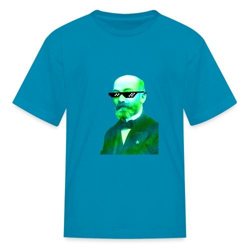 Green and Blue Zamenhof - Kids' T-Shirt