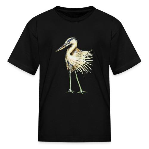 Great Blue Heron - Kids' T-Shirt