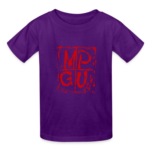 MPGU RED STROKE - Kids' T-Shirt
