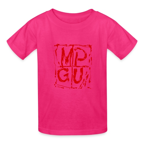 MPGU RED STROKE - Kids' T-Shirt