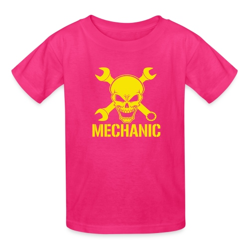 Mechanic Skull - Kids' T-Shirt