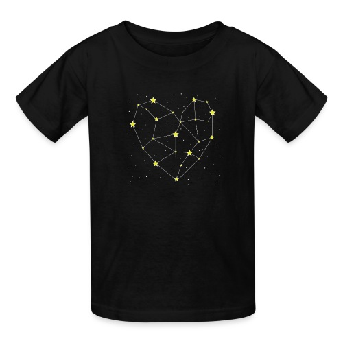 Heart in the Stars - Kids' T-Shirt