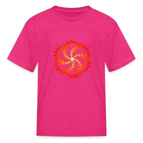 Crop circle - Kids' T-Shirt