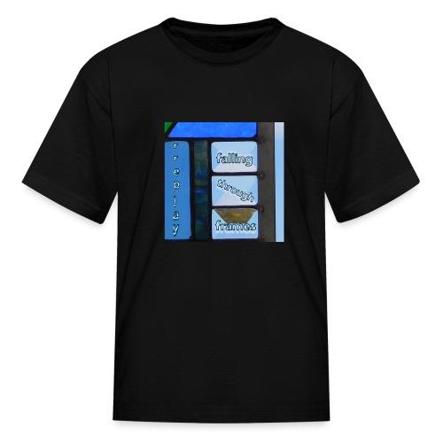 Falling Through Frames - rreplay - Kids' T-Shirt