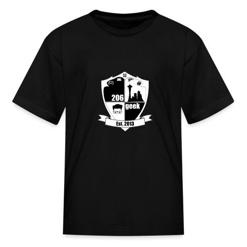 206geek podcast - Kids' T-Shirt