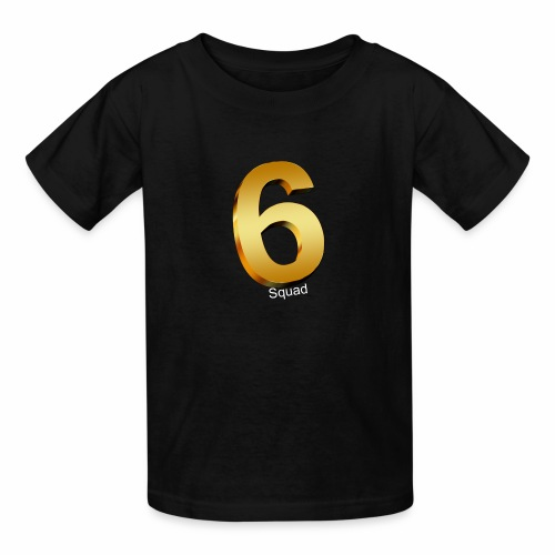 {{GOLD}} (MERCH) 6 squad - Kids' T-Shirt