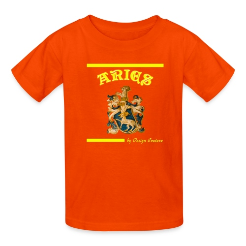 ARIES YELLOW - Kids' T-Shirt