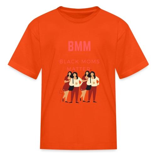 BMM wht bg - Kids' T-Shirt