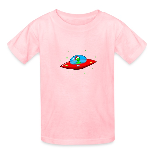 UFO Alien Santa Claus - Kids' T-Shirt