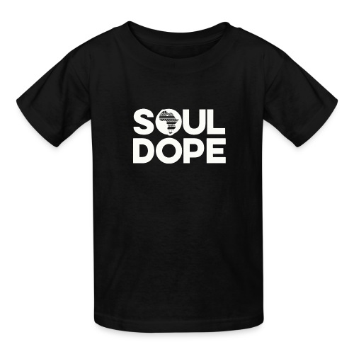 souldope white tee - Kids' T-Shirt