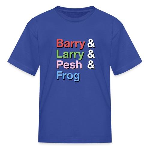 Barry-Larry-Pesh-Frog-Shi - Kids' T-Shirt