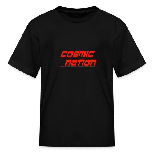 Cosmic Nation Logo - Kids' T-Shirt