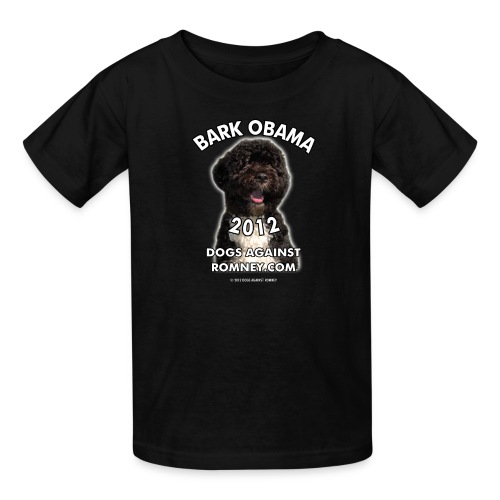 Official Dogs Against Romney Bark Obama 2012 - Kids' T-Shirt