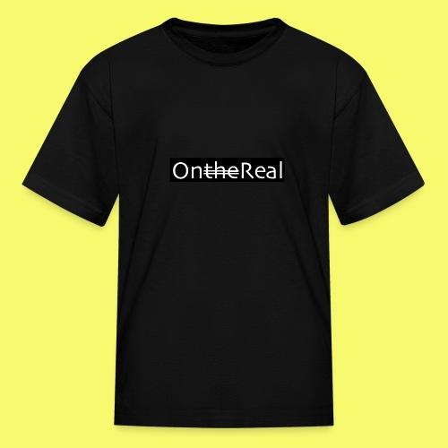 OntheReal coal - Kids' T-Shirt