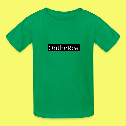 OntheReal coal - Kids' T-Shirt