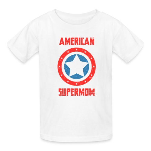 American Supermom - Kids' T-Shirt