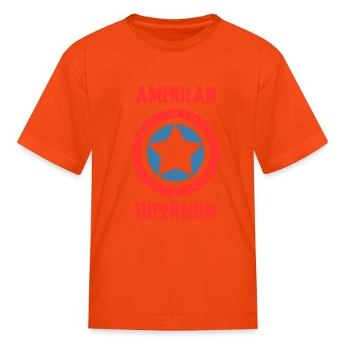 American Supermom - Kids' T-Shirt
