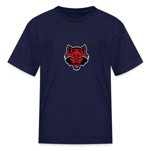 Red Wolf - Kids' T-Shirt