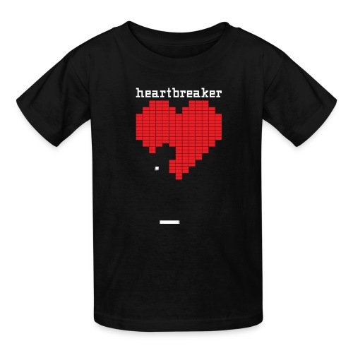 Heartbreaker Valentine's Day Game Valentine Heart - Kids' T-Shirt
