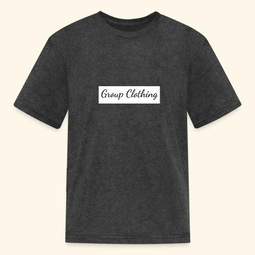 Cursive Black and White Hoodie - Kids' T-Shirt