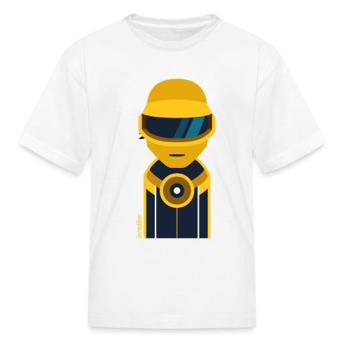 perso-goldrobot - Kids' T-Shirt