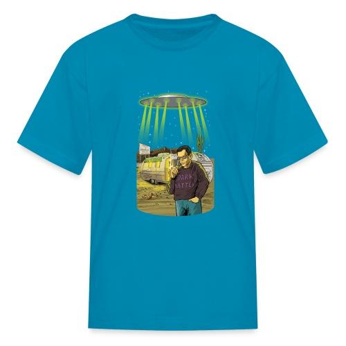 Art Bell Coast to Coast UFO Sighting - Kids' T-Shirt
