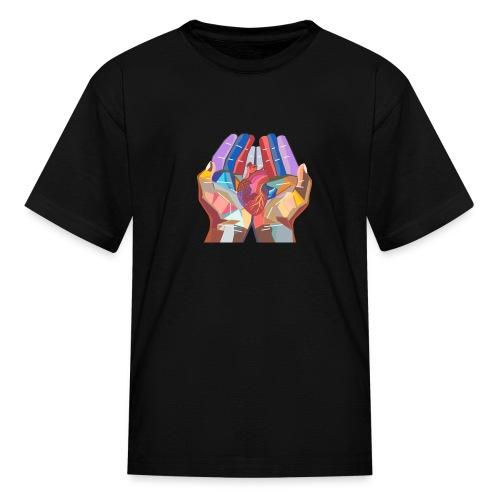 Heart in hand - Kids' T-Shirt