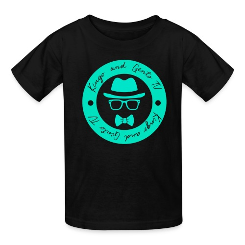Kings and Gents TV Logo - Kids' T-Shirt