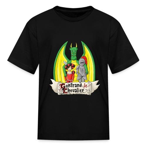 La quête de Gontrand, Glorian et Hubert - T-shirt classique pour enfants