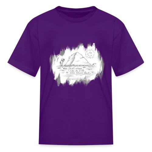 Listen to Classic Rock - Kids' T-Shirt