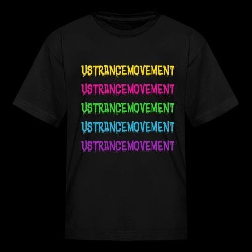 US TRANCE MOVEMENT DRIP - Kids' T-Shirt