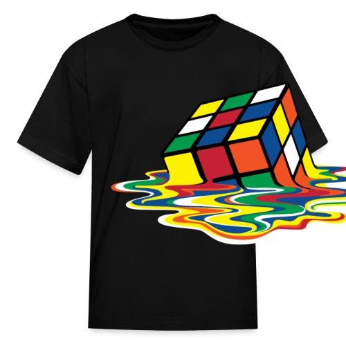 meltingcube - Kids' T-Shirt