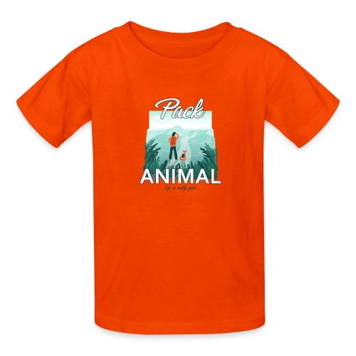Life Is Really Good Pack Animal - Kids' T-Shirt