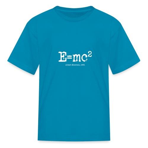 E=mc2 - Kids' T-Shirt