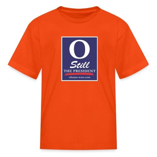 obama won shirts 300dpi - Kids' T-Shirt