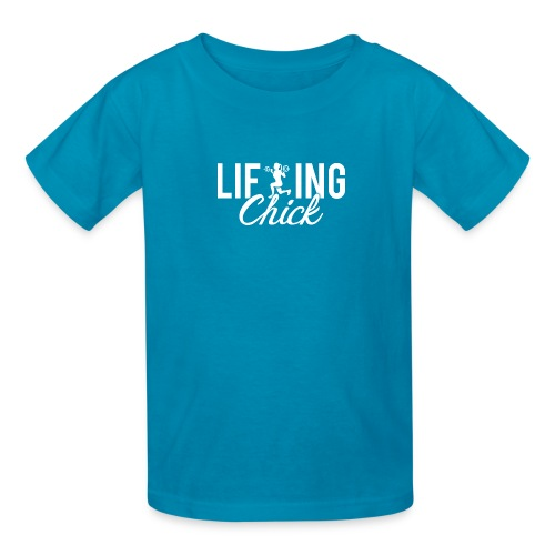 Lifting Fitness Chick - Kids' T-Shirt