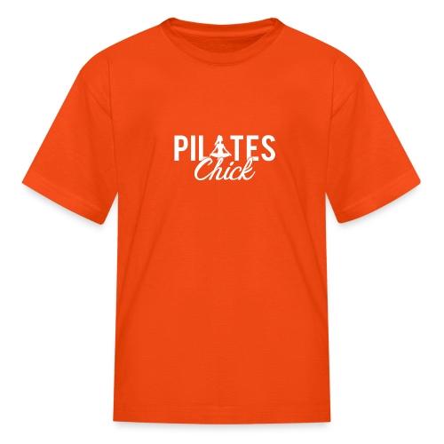 Pilates Fitness Chick - Kids' T-Shirt